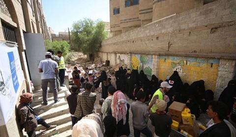 Å takle sult i Jemen