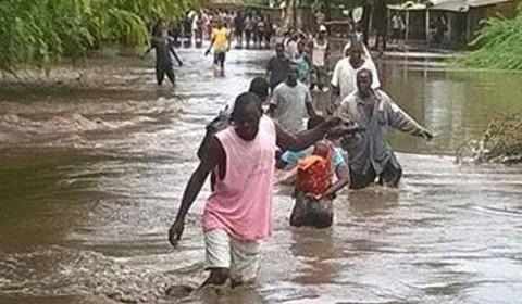 Svar på flommen i Malawi