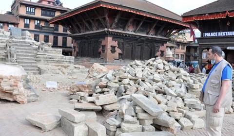 Nepal  – Et sted av luksus, er nå i støv og ruiner
